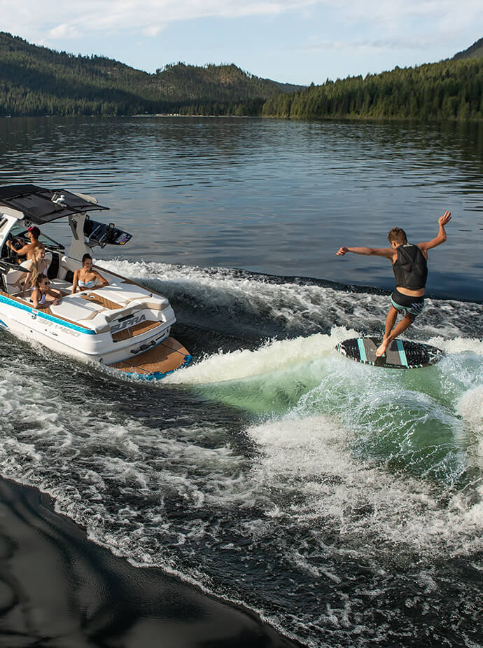 Swell™ Surf System | Supra Wake Surfing Boat Precision