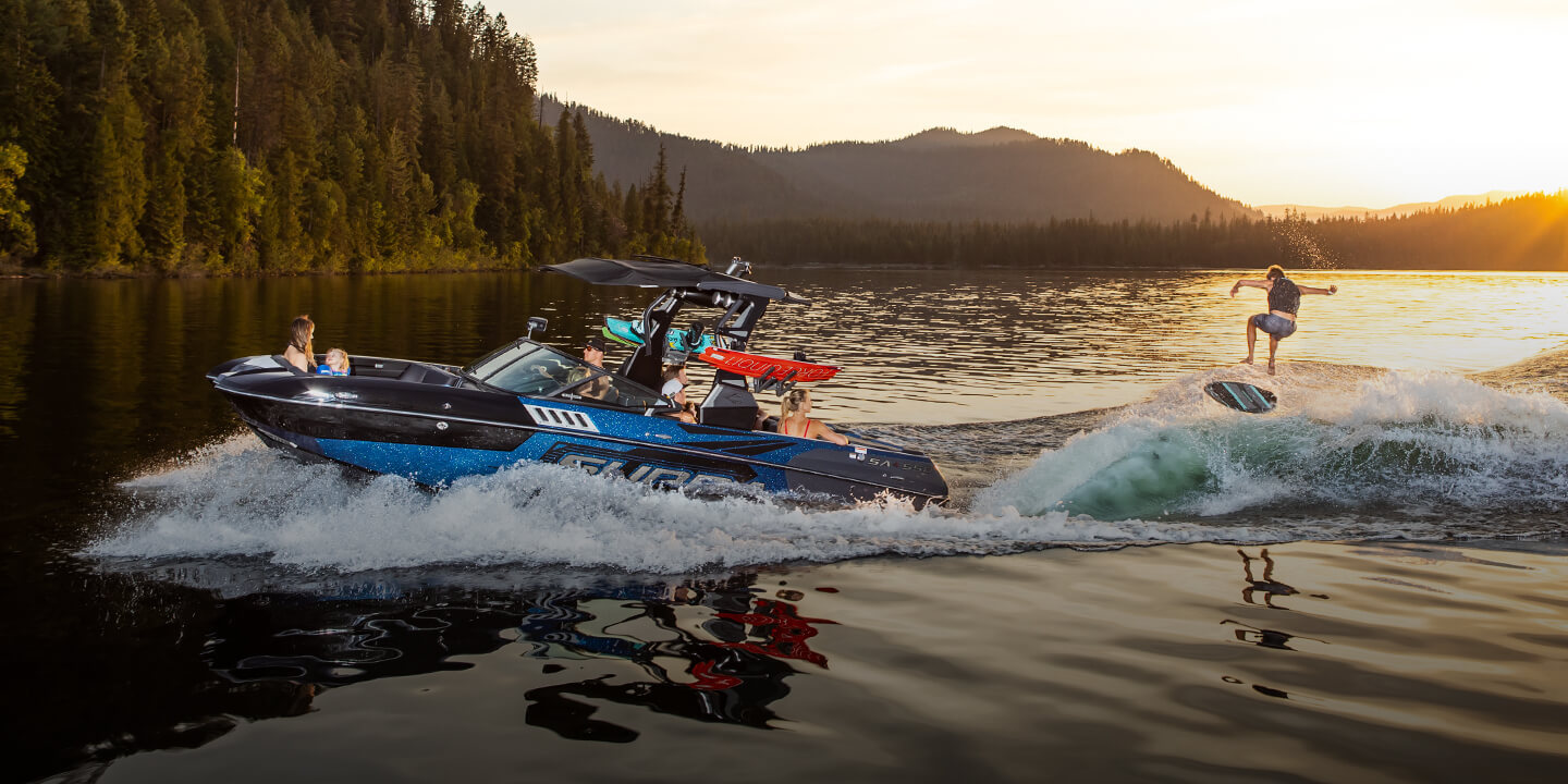 Swell™ Surf System | Supra Wake Surfing Boat Precision Engineering